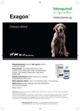 Exagon® - Vétoquinol sro