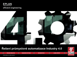 Řešení průmyslové automatizace Industry 4.0