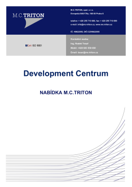 Development centrum - MC