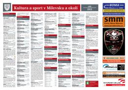 Milevský kulturní kalendář 9-2015
