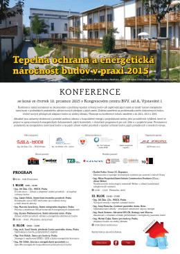 Kompletní program konference