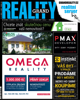 realitní - GRAND PRINC MEDIA, as