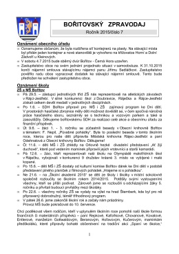 Zpravodaj 7/2015