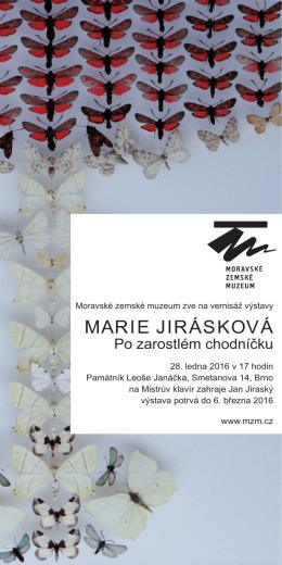 MARIE JIRÁSKOVÁ - Moravské zemské muzeum