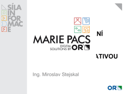 marie pacs - Eventworld.cz