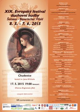 XIX. Evropský festival duchovní hudby