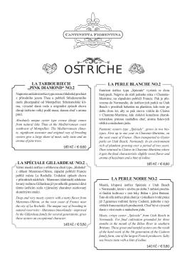 OSTRICHE - Cantinetta Fiorentina