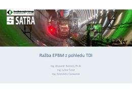 Butovič - Ražba EPBM z pohledu TDI