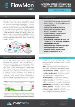 Anomaly Detection System pro vnitřní i vnější bezpečnost sítě