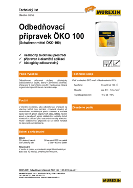 Odbedňovací přípravek ÖKO 100