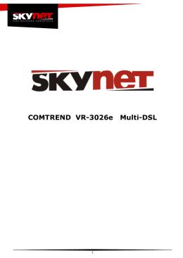 COMTREND VR-3026e Multi-DSL