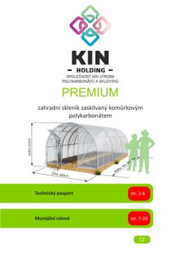 PREMIUM - Skleníky Kinplast
