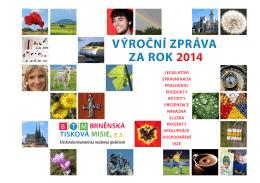 výroční zpráva za rok 2014 výroční zpráva za rok 2014