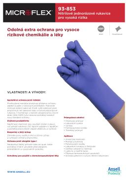 Odolná extra ochrana pro vysoce rizikové chemikálie a léky