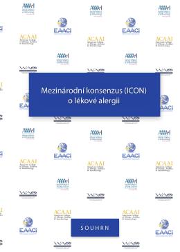 Mezinárodní konsenzus (ICON) o lékové alergii