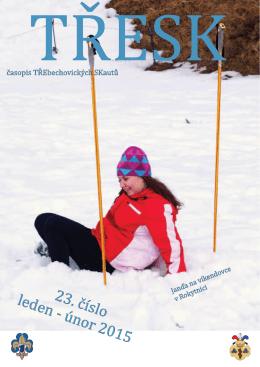 lednovoúnorové číslo časopisu Třesk