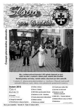 Časopis přerovského děkanátu - Římskokatolická farnost Přerov