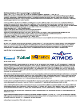 Kotlíková dotace 2015: podmínky a podrobnosti