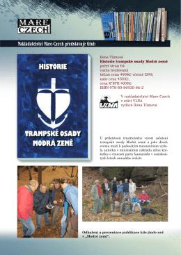 Ilona Tůmová Historie trampské osady Modrá země - mare