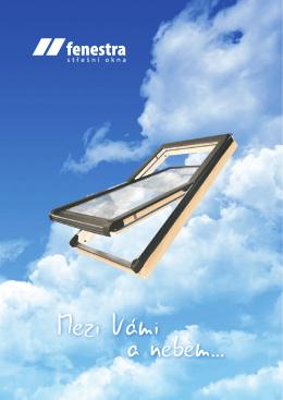 Katalog - rok 2015 - FENESTRA střešní okna sro