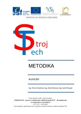 Ukázka Metodika ArchiCAD