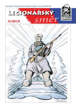 Legionarsky smer 4 2015 - Československá obec legionářská