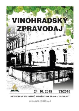 24.10.2015 - Stránky sboru CASD Praha