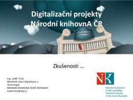 Národní knihovna ve spolupráci s Google