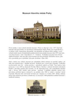 Muzeu hl.m. Prahy