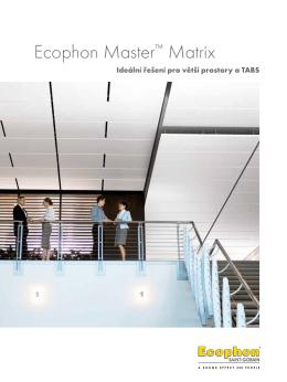 Ecophon Master™ Matrix - ideální řešení pro velké prostory a