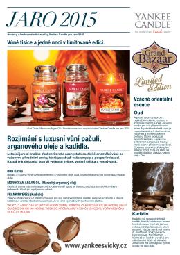 Yankee Candle Grand Bazaar limitka 2015