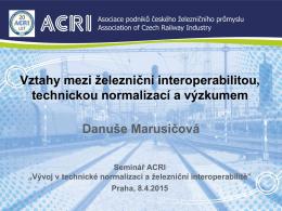 Danuše Marusičová, ACRI