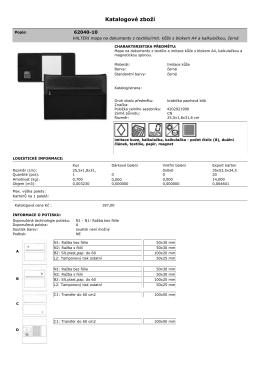 Katalog zboží