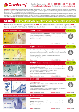 katalog ke stažení - Cranberry Česká republika