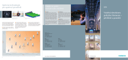 Vnitřní detektory pohybu Siemens – přehled a použití