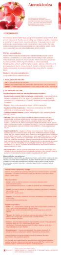 Ateroskleróza - Anja bylinarka