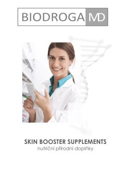 SKIN BOOSTER SUPPLEMENTS