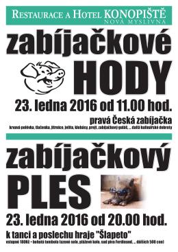 """k tanci a poslechu hraje """"Šlapeto"""" pravá Česká zabíjačka"""