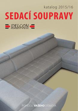 Katalog sedacích souprav