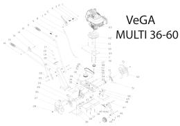 Manuál zahradní kultivátor VeGA MULTI 36