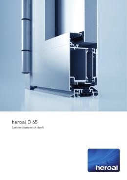 heroal D 65 Haustuersystem