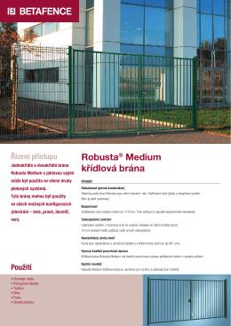 Robusta® Medium křídlová brána