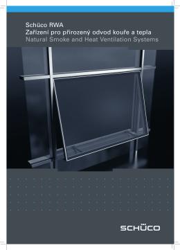 Schüco RWA – zařízení pro přirozený odvod kouře a tepla - msv