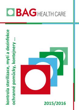 2015/2016 kontrola sterilizace, m ytí a dezinfekce