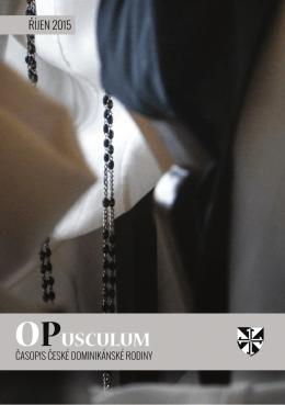 říjen 2015 - OPusculum