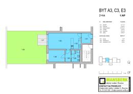 ÚČEL MÍSTNOSTI Č. PLOCHA 1.07 1.08 terasa 5 m2