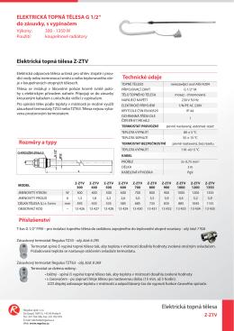 PL - Elektricka topna telesa - Z-ZTV - A4_cz.indd