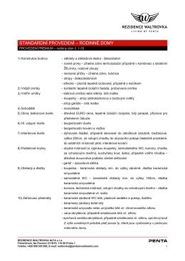 premium pdf - Rezidence Waltrovka