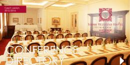 Stáhnout Savoy konferenční místnosti PDF