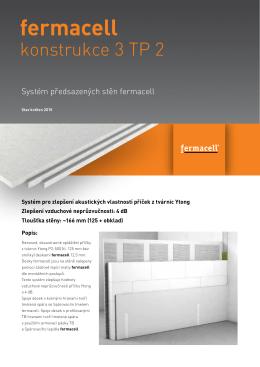 Konstrukční list - 3TP2 - akustické zlepšení Ytong stěny